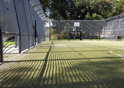 Turf Soccer and Basketball court